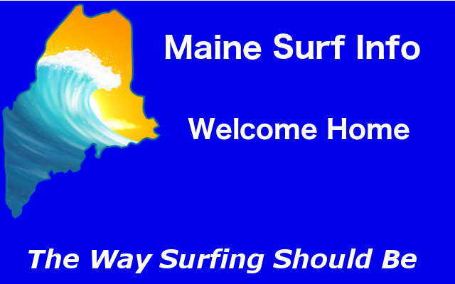 Welcome to Maine Surf Info